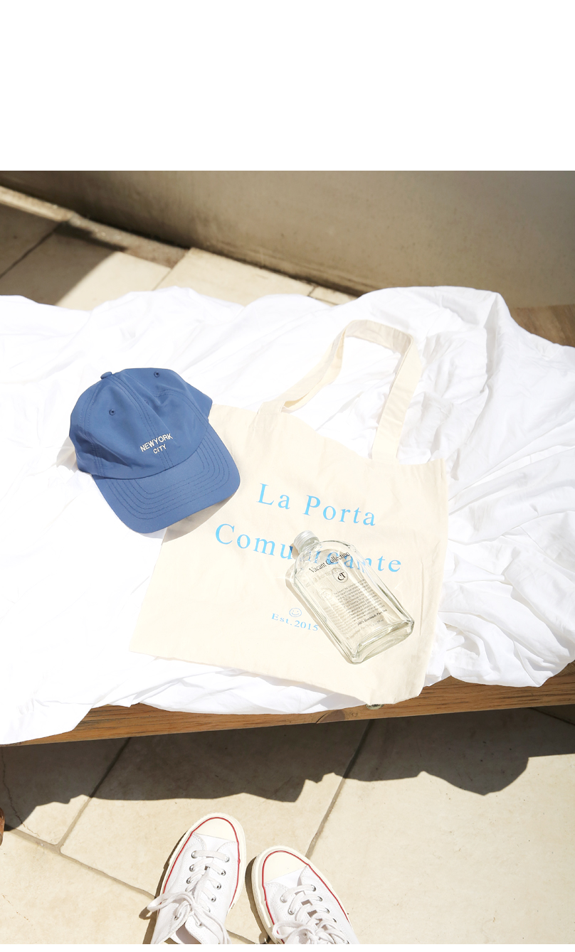 Lettering Print Eco Bag