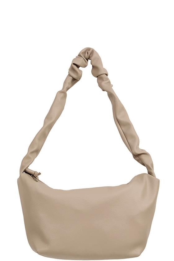 half moon layer shoulder bag