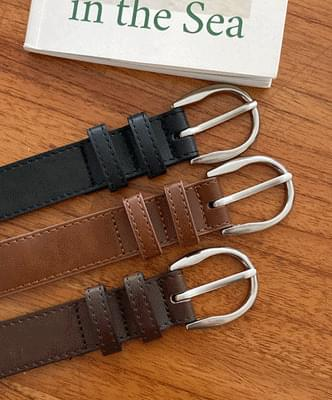 cycle leather belt