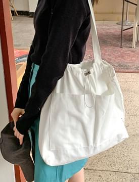 Two Pocket Strap Cotton Eco Bag