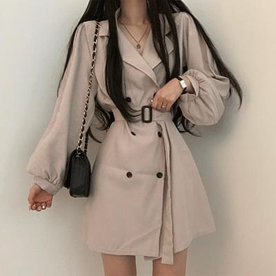 Autumn Fall Trench Dress
