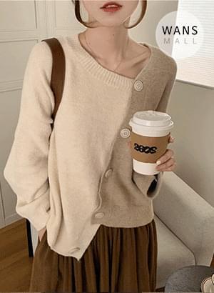 cd5916 Roissy Unbald Knitwear Cardigan