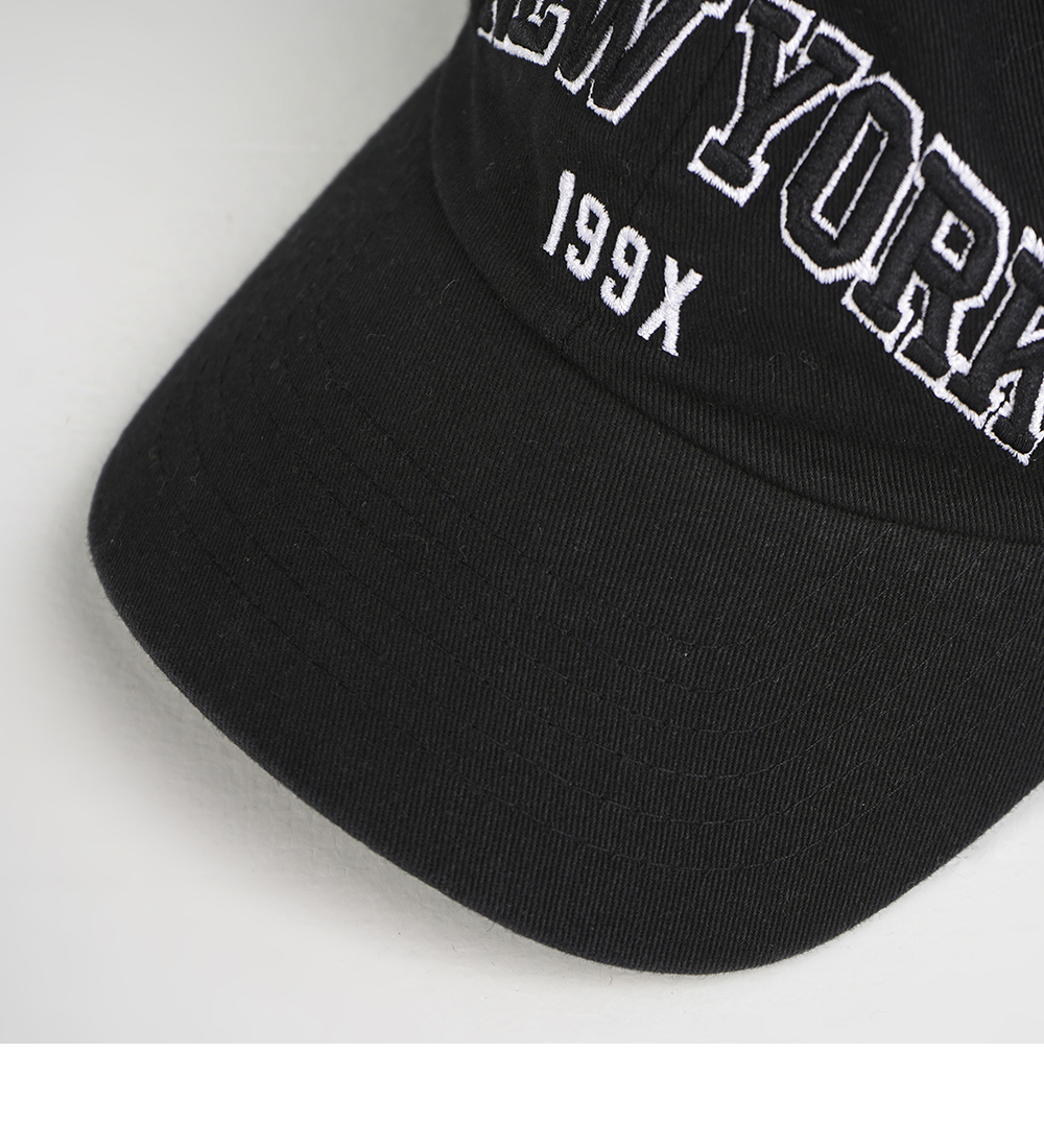 New York Vintage Lettering Ball Cap