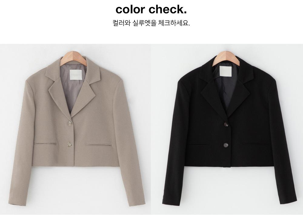 Karin tailored cropped jacket