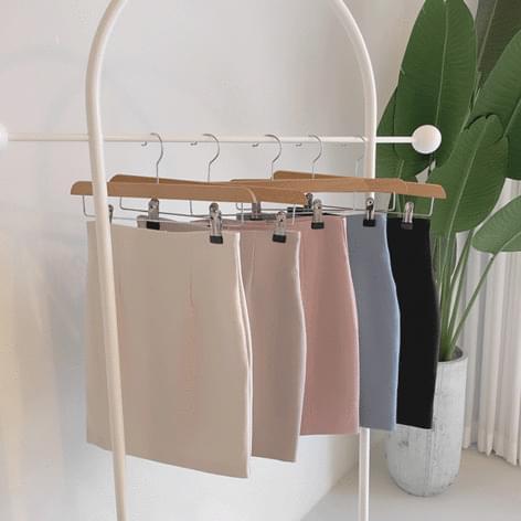 Breathless belly cover high waist H-line skirt 裙子