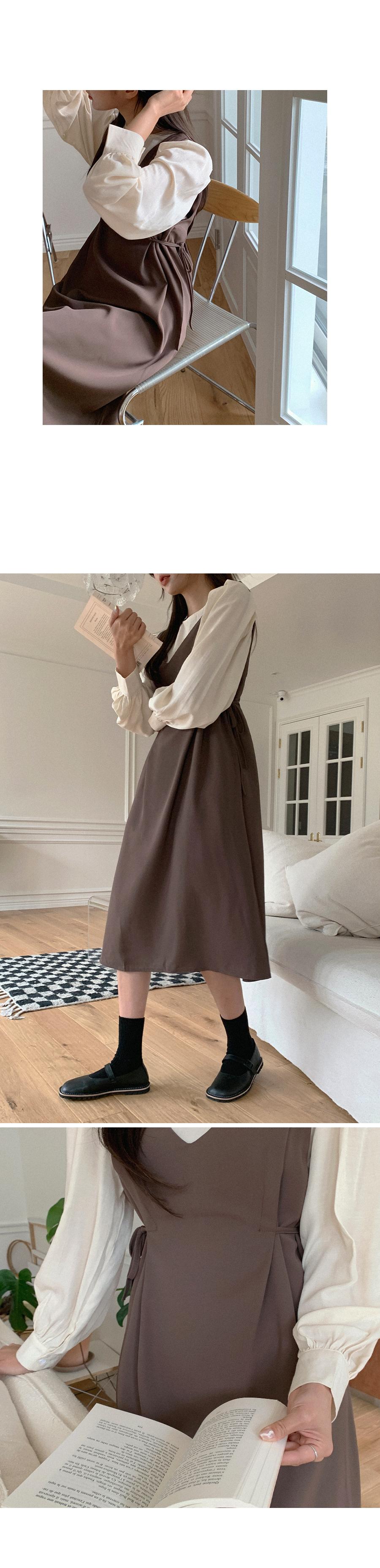 Girly You Blouse + Dress Set