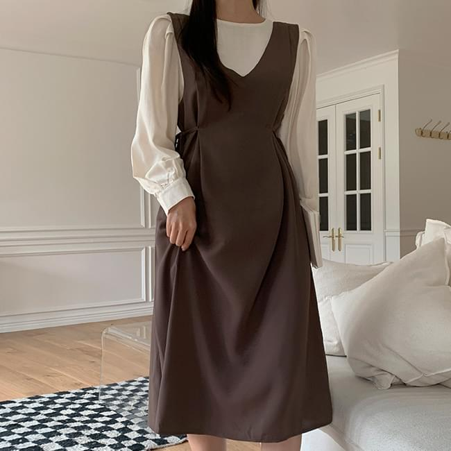 Girly You Blouse + Dress Set 套裝