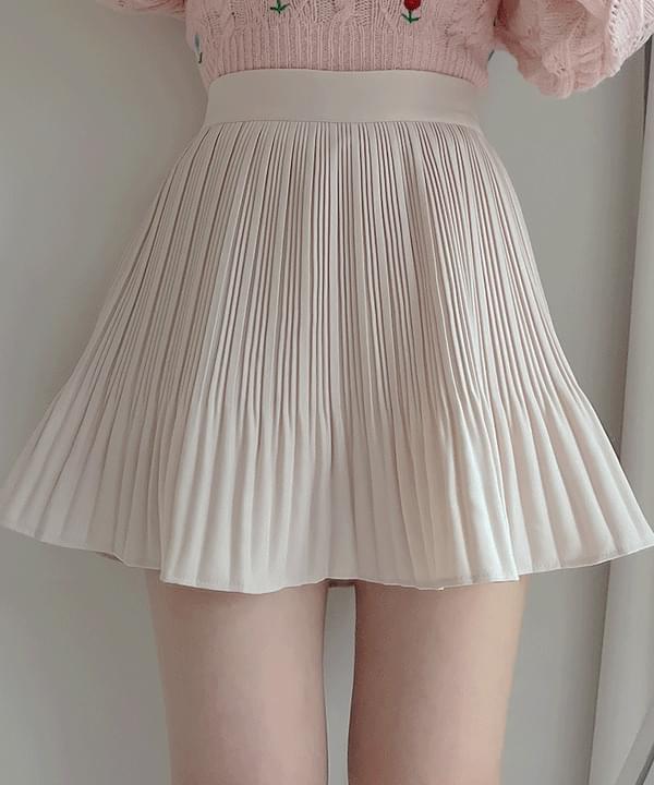 Weekend pleated skirt pants 5color
