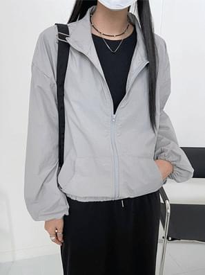 Chid Nylon Windbreaker Jacket
