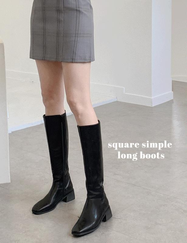 Bay Sim Fleer Long Boots Shoes SNS Inquiry Runaway