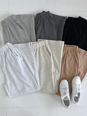 All Day Cotton Cotton Wide Banding Pants