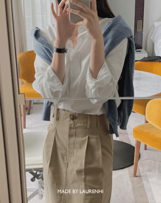 Basic Standard Fit Cotton Shirt ver.2 - 5 color