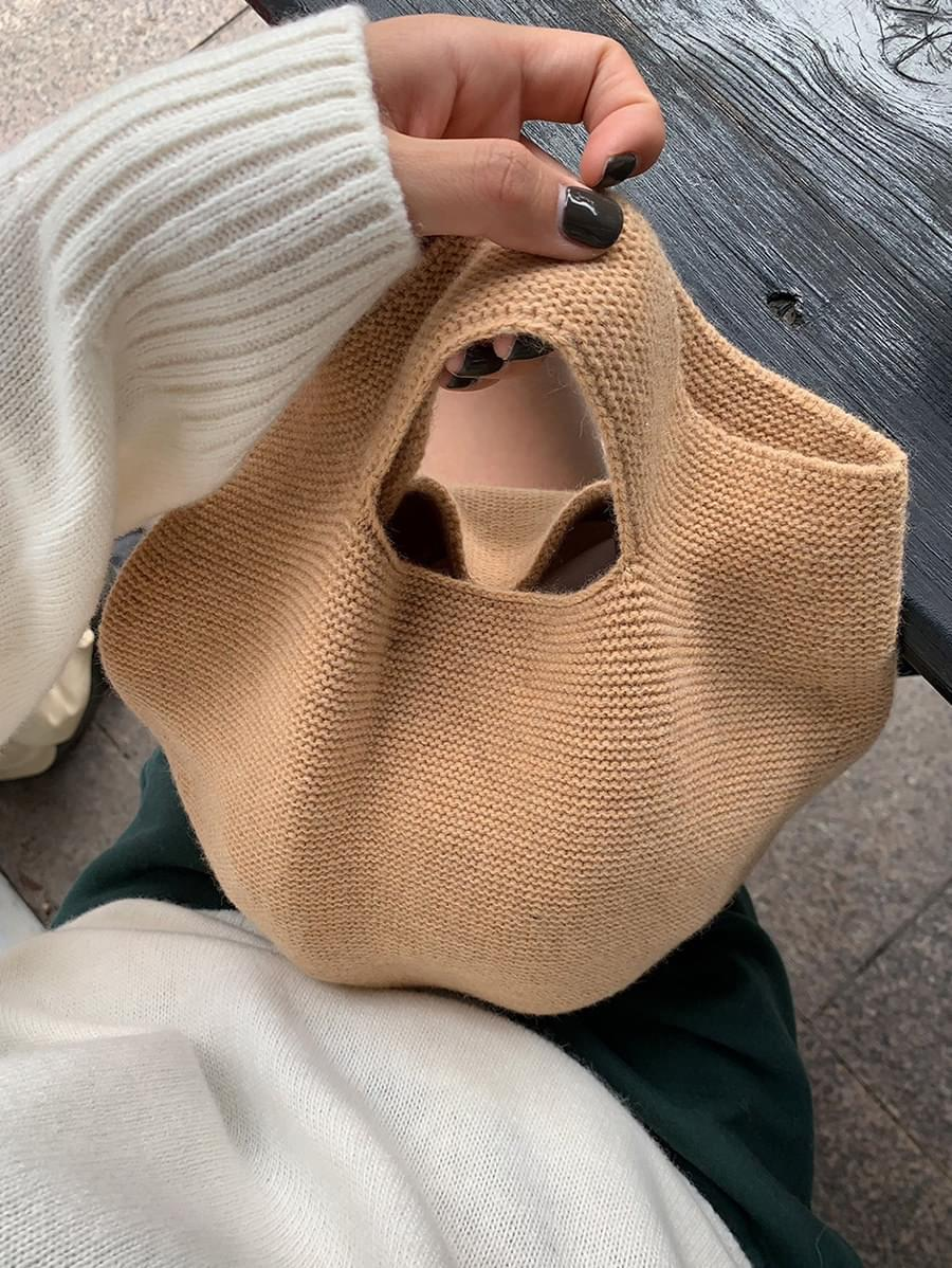 Whole Garment Knit Bag