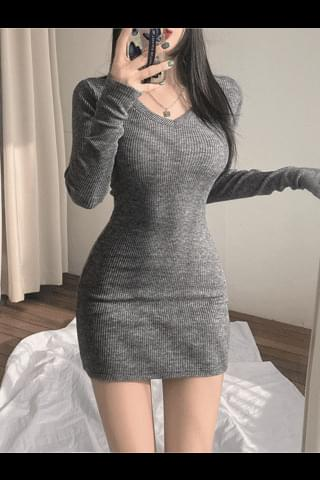 Are you jealous of the Ribbed Dress?