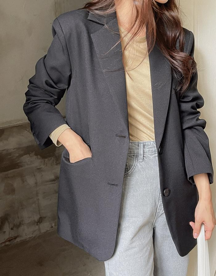 semi-over slit jacket