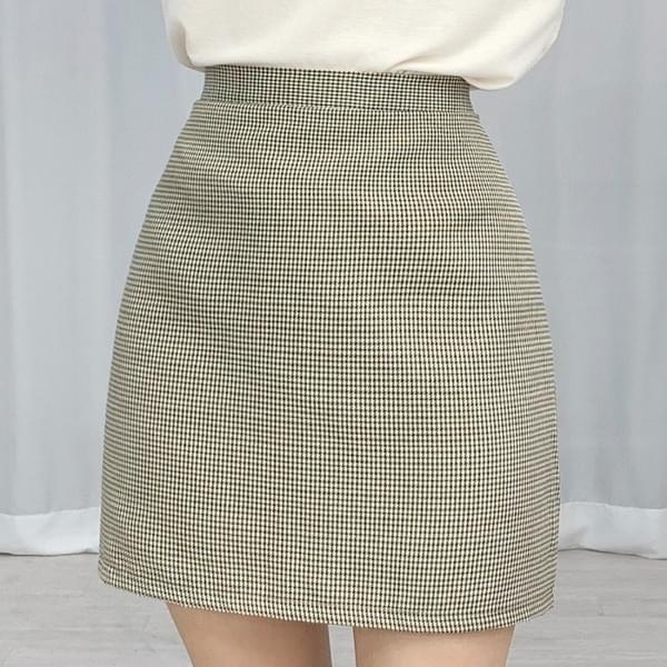 Hound Check Back Banding Skirt 裙子
