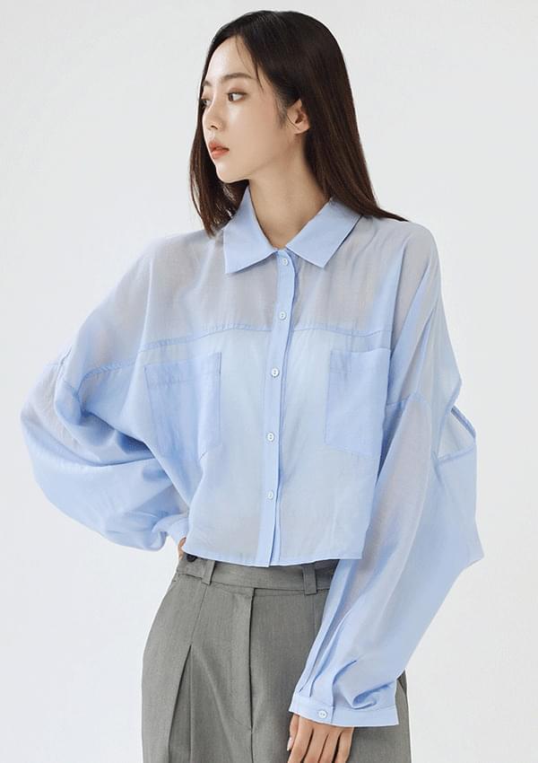 matte blouse