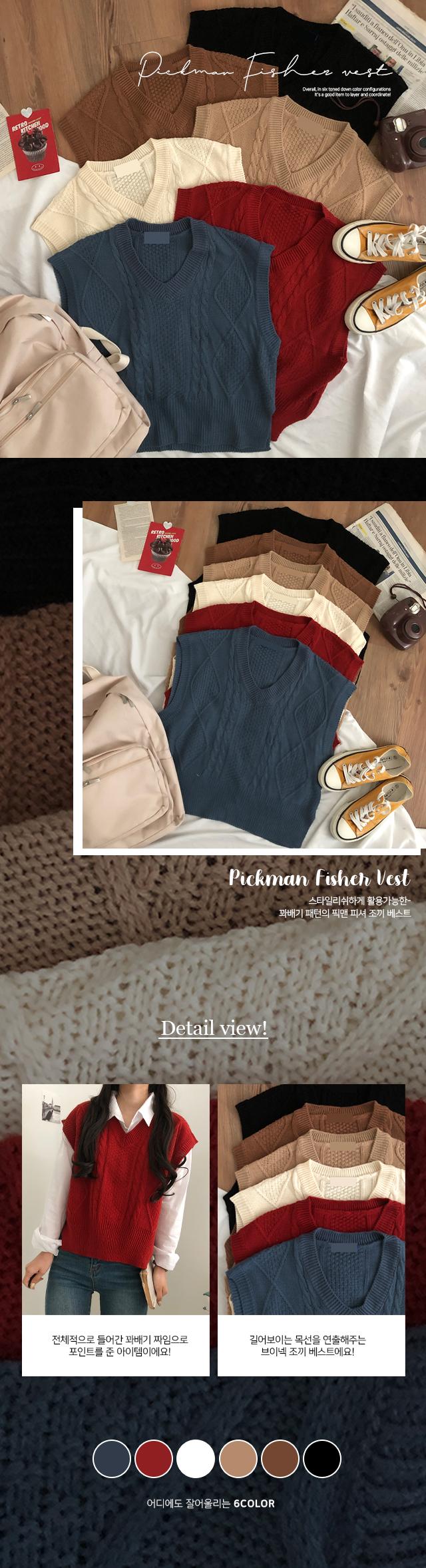 Pacman Fisher Vest Vest