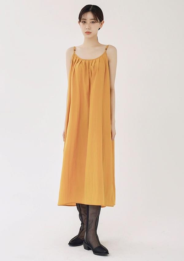 oring sleeveless one-piece