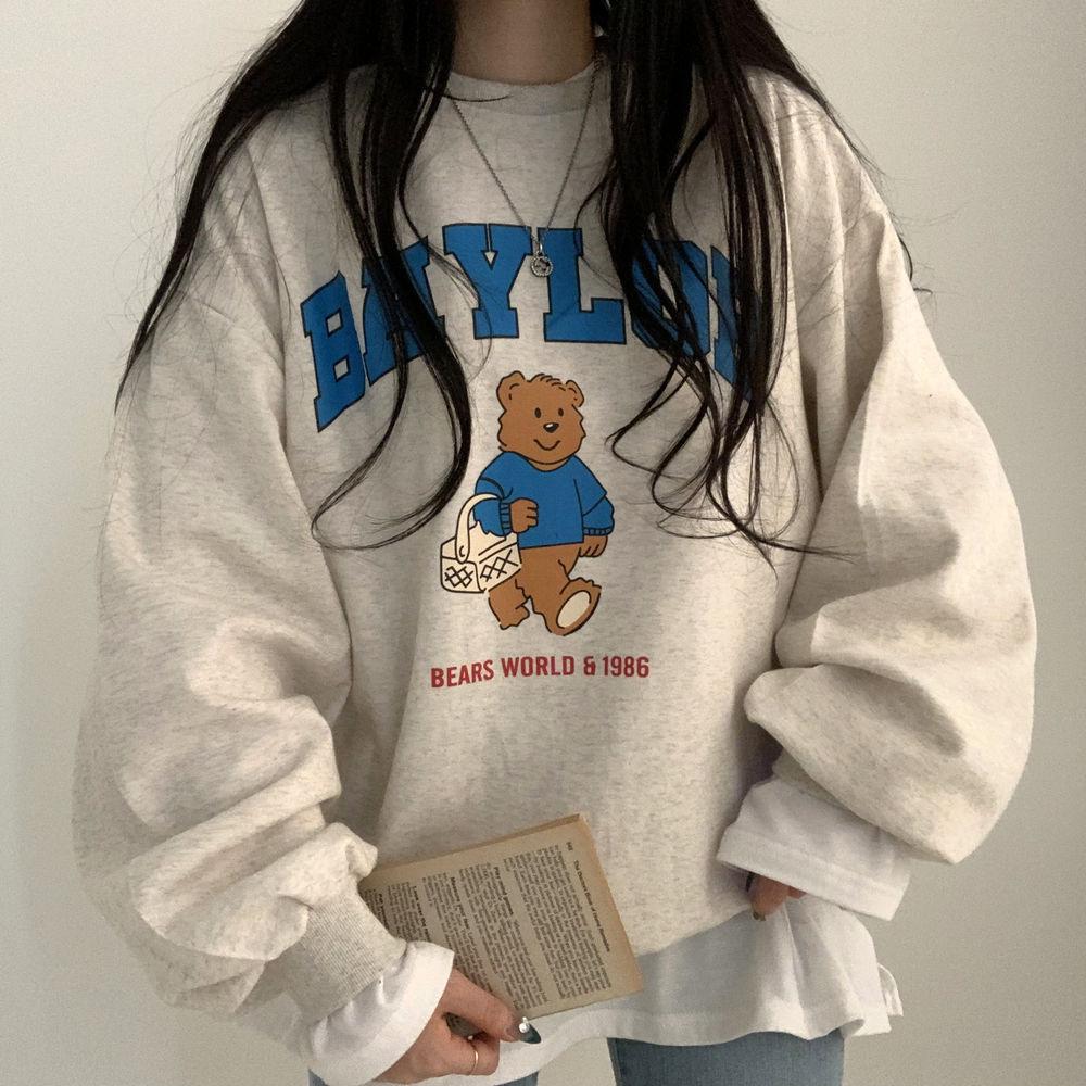 Ppojjak bear Sweatshirt