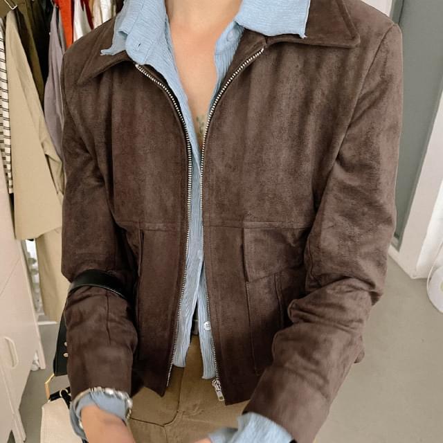 torch suede jacket