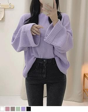 Jeanne Lip Neck Loose-fit Fit Knitwear