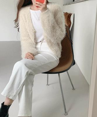 T-Ban one-button cardigan