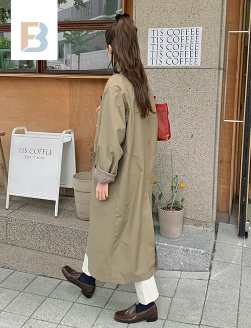 Origin single trench coat