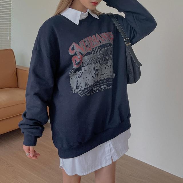 Eotaen printing Buffett five Sweatshirt