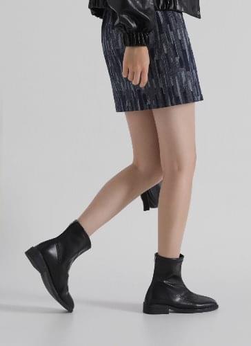 Jador Square Ankle Boots BSLTS4d820