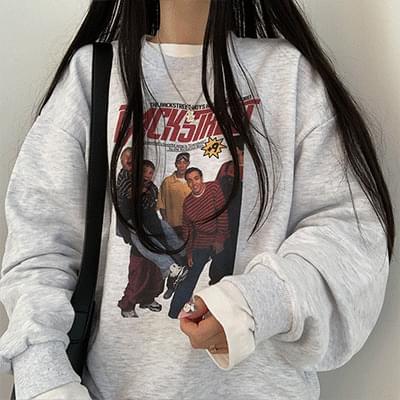 Hip ~~ printed Sweatshirt