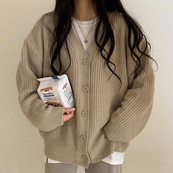 Seasonal balloon cardigan 針織外套