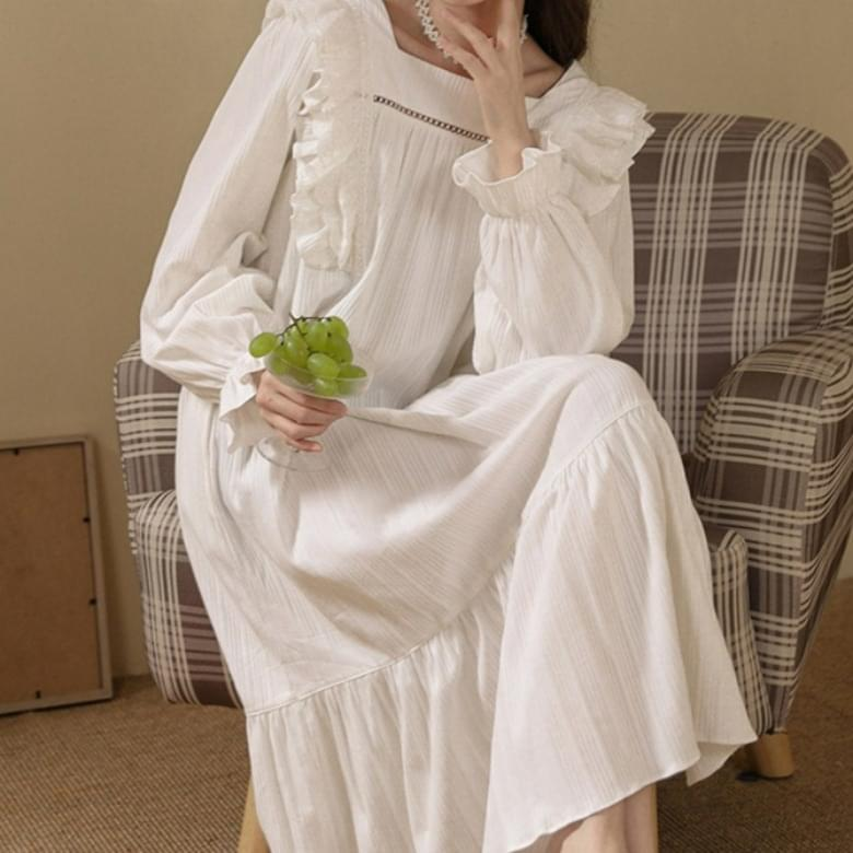 Homewear Lovely Lady Pajamas Dress