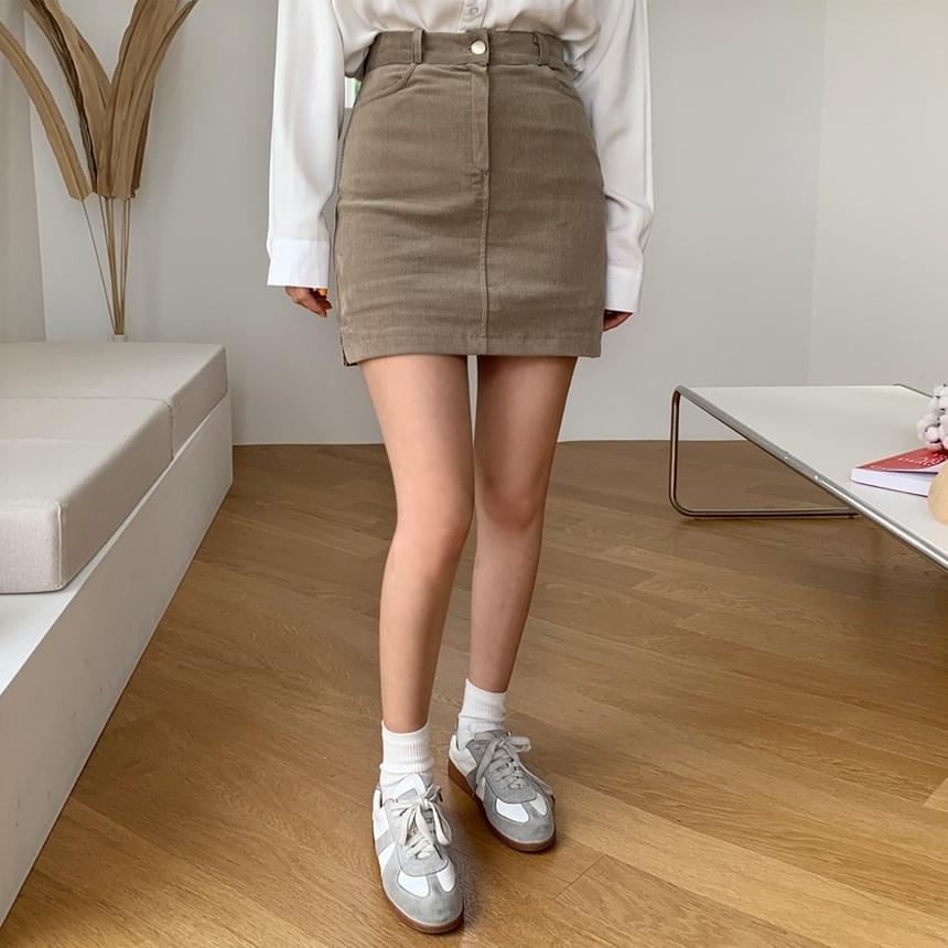 Chichi Corduroy Skirt
