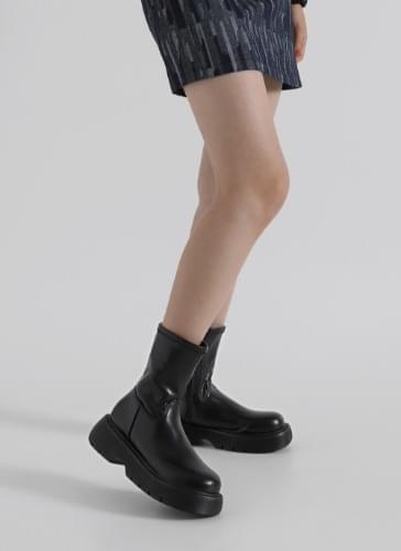 Eevee long-heeled zip-up boots BSLTR4d223