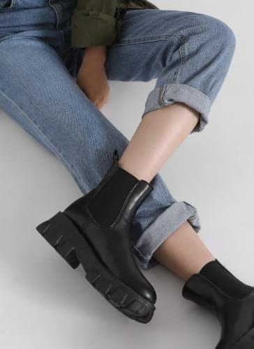 Plum Chelsea Ankle Boots BSLTR4d222
