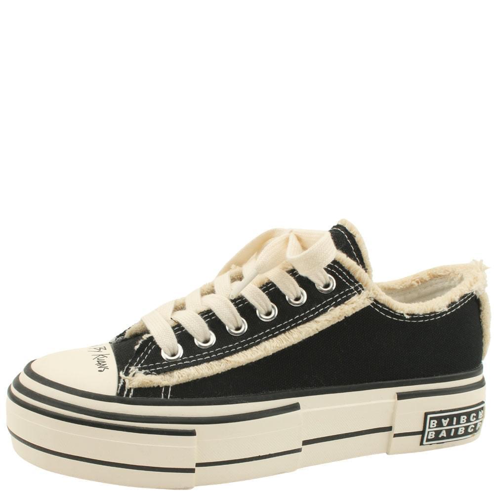 Canvas Vintage Sneakers Black