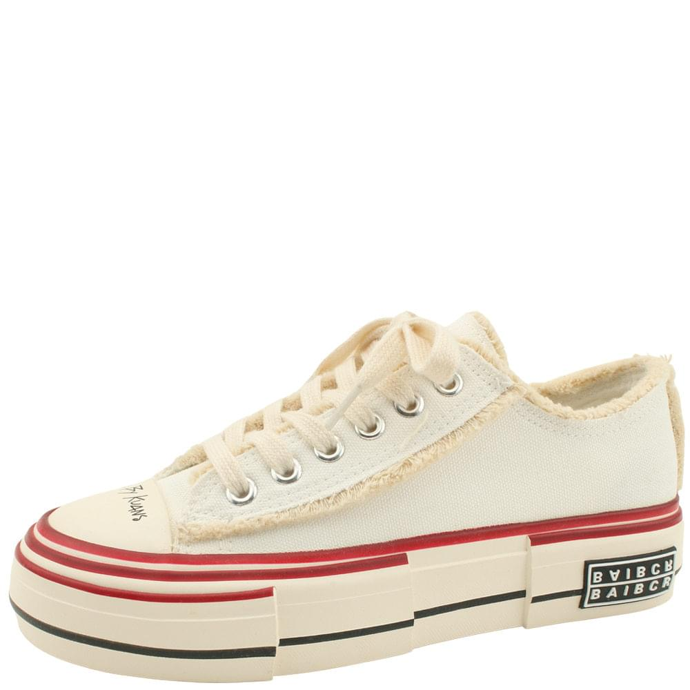 Canvas Vintage Sneakers White