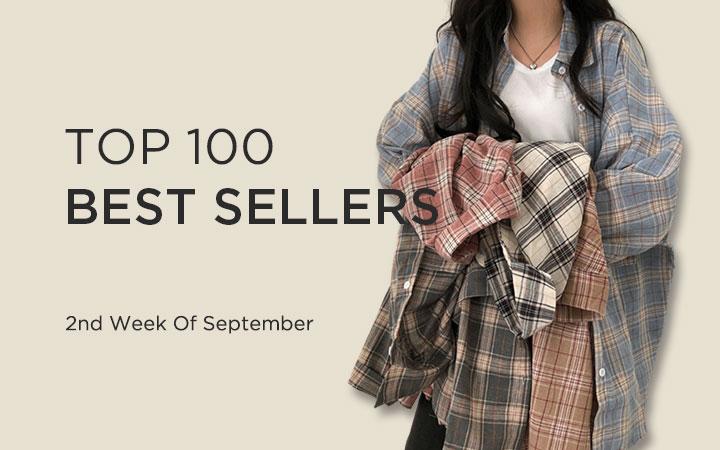 TOP 100 BEST SELLERS - 2nd Week Of September