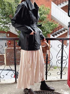 Madeleine flared skirt