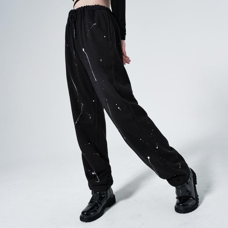 gabi painted jogger trousers