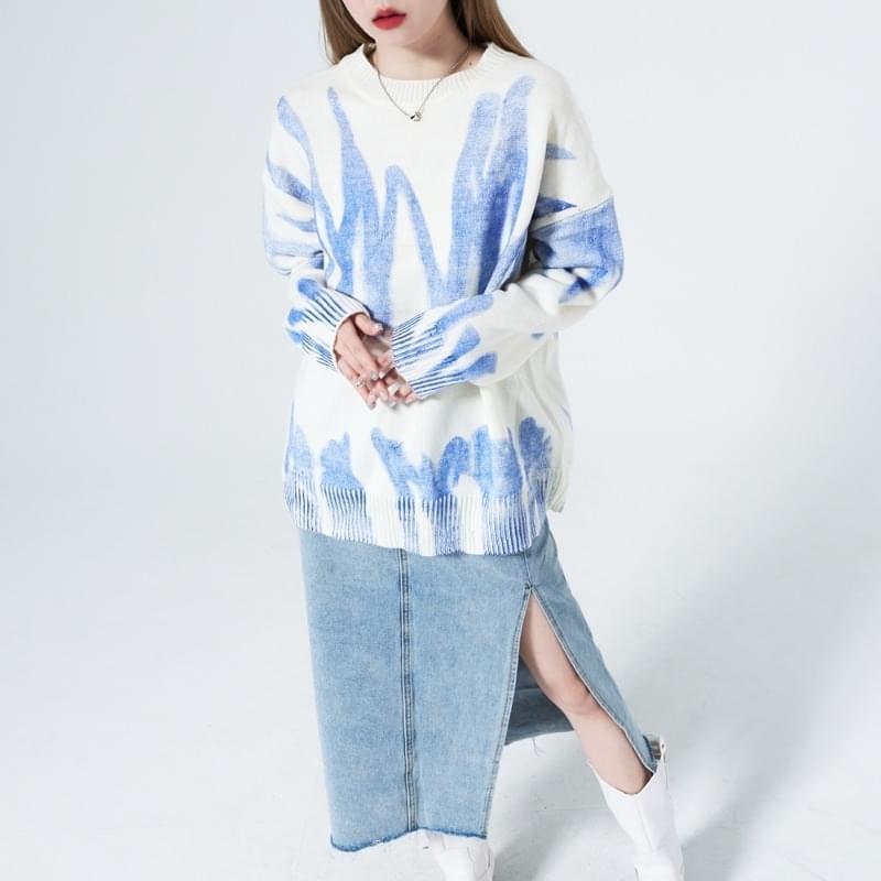Monica Painting Boxy Knitwear 針織衫