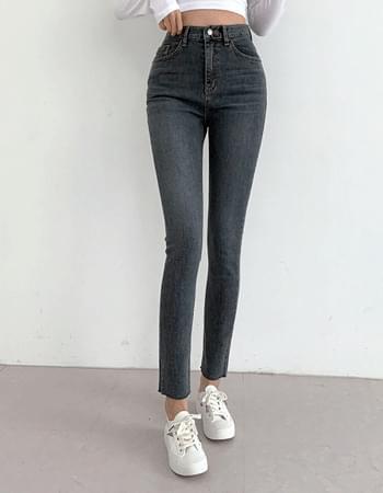 Diven Van Hai Faded Deep Gracie Slim Straight Denim Pants
