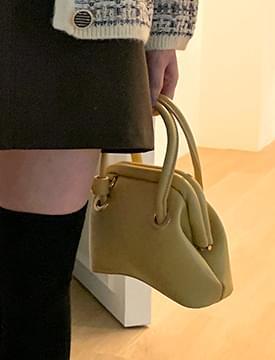 Magnet Leather Mini Shoulder Bag