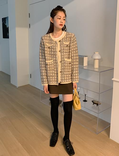 Martin belt A-line mini skirt