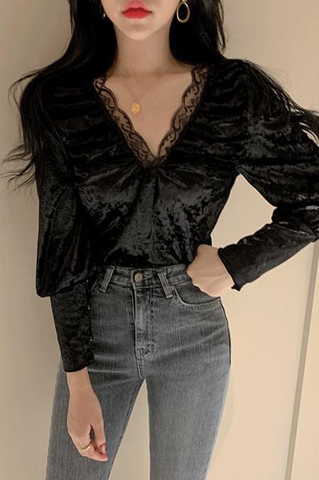 velvet sugar blouse