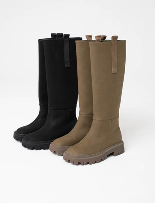 Matte Over Solder Long Boots