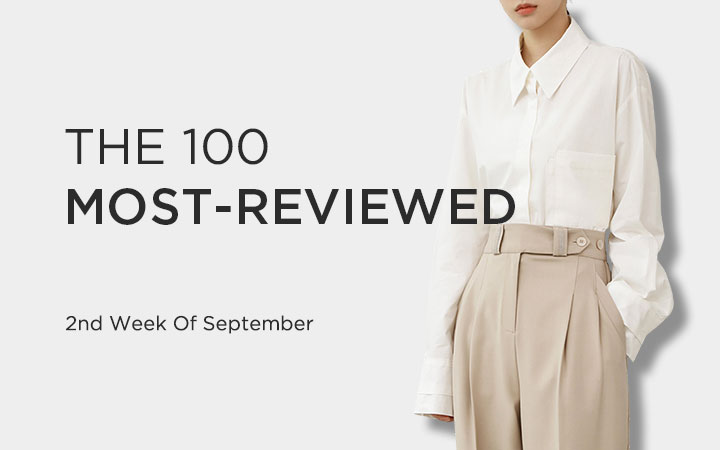 THE 100 MOST-REVIEWED - 2nd Week Of September