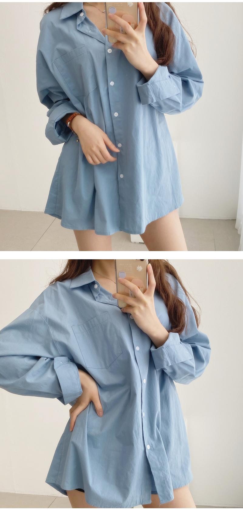 Tycho Cotton Pocket Shirt Shirt Blouse