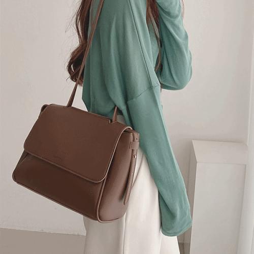 Judy Daily Leather Big Shopper Bag Women's Shoulder Bag 3color